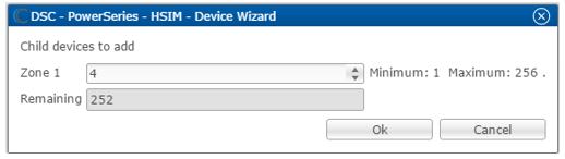 Configuring DSC Alarm Panels Using the HSIM Interface Module