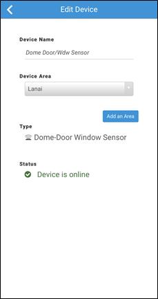 Dome Sensor