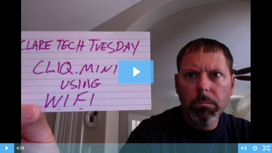 Clare Tech Tuesday: Streamlined CLIQ.mini Set Up Process