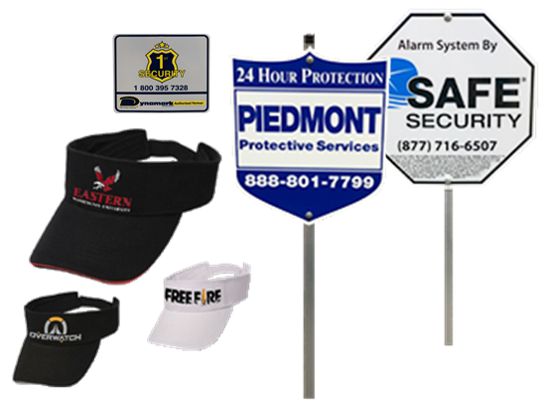 Marketing Store Promotion: Take 10% Off Your Order of Security Signage, Branded Literature, Window Decals, and More!