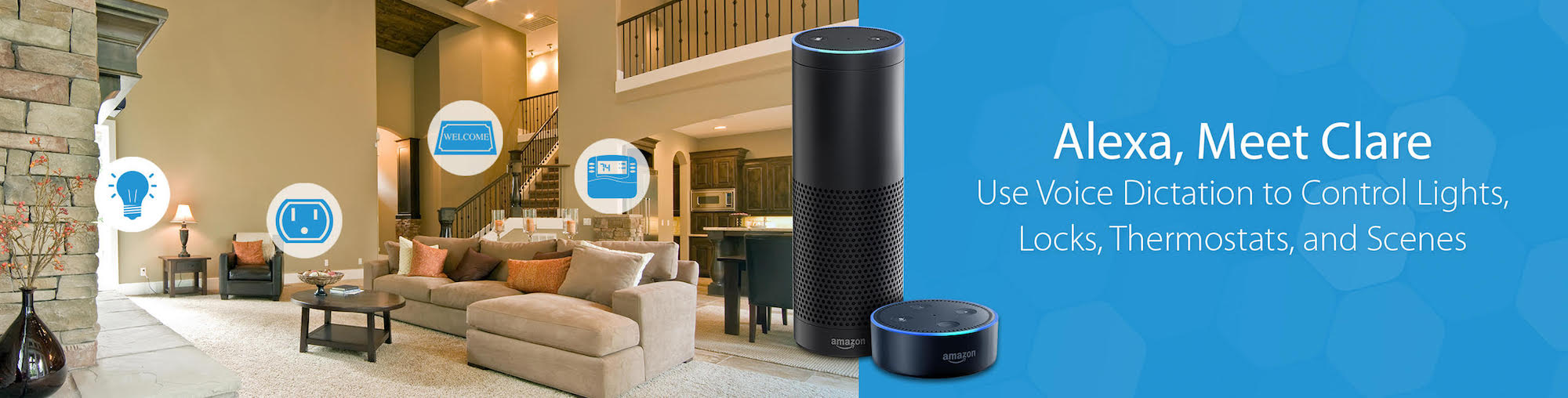ClareHome + Alexa | Voice Control Your Smart Home Automation