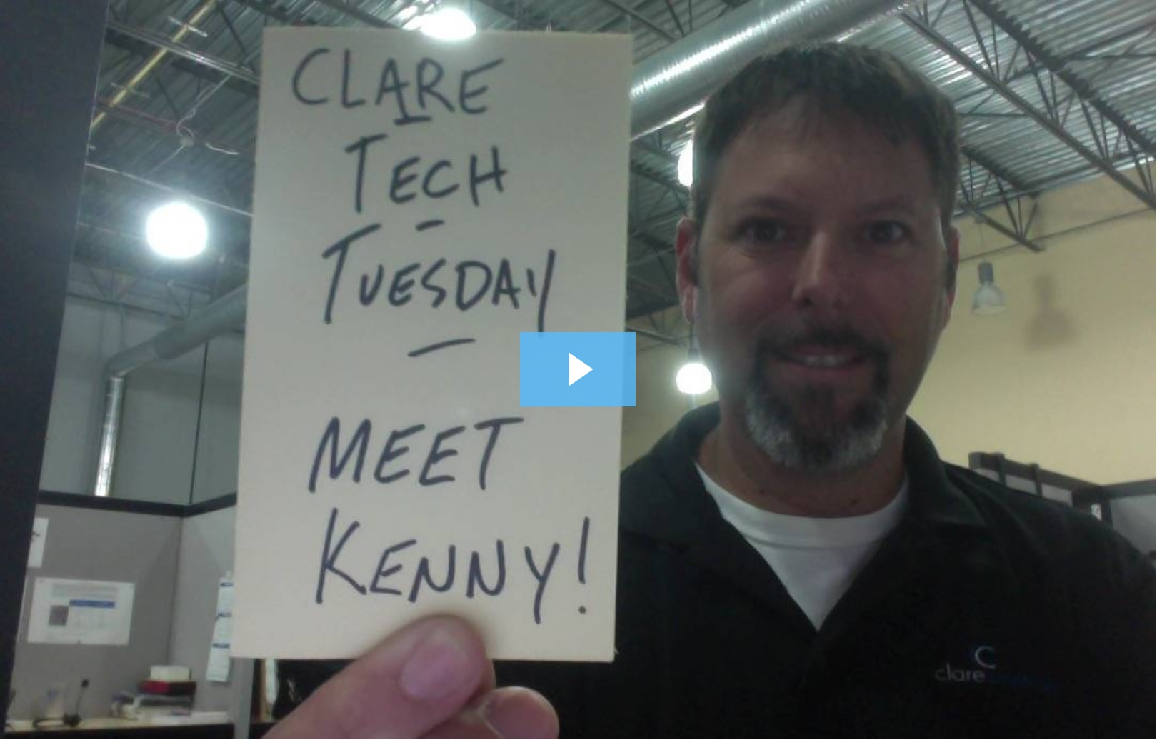Clare Tech Tuesday: Business Discussion: Introducing Kenny