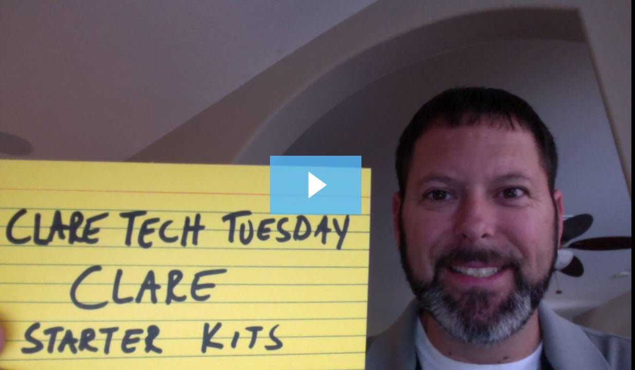 Clare Tech Tuesday: Clare Starter Kits