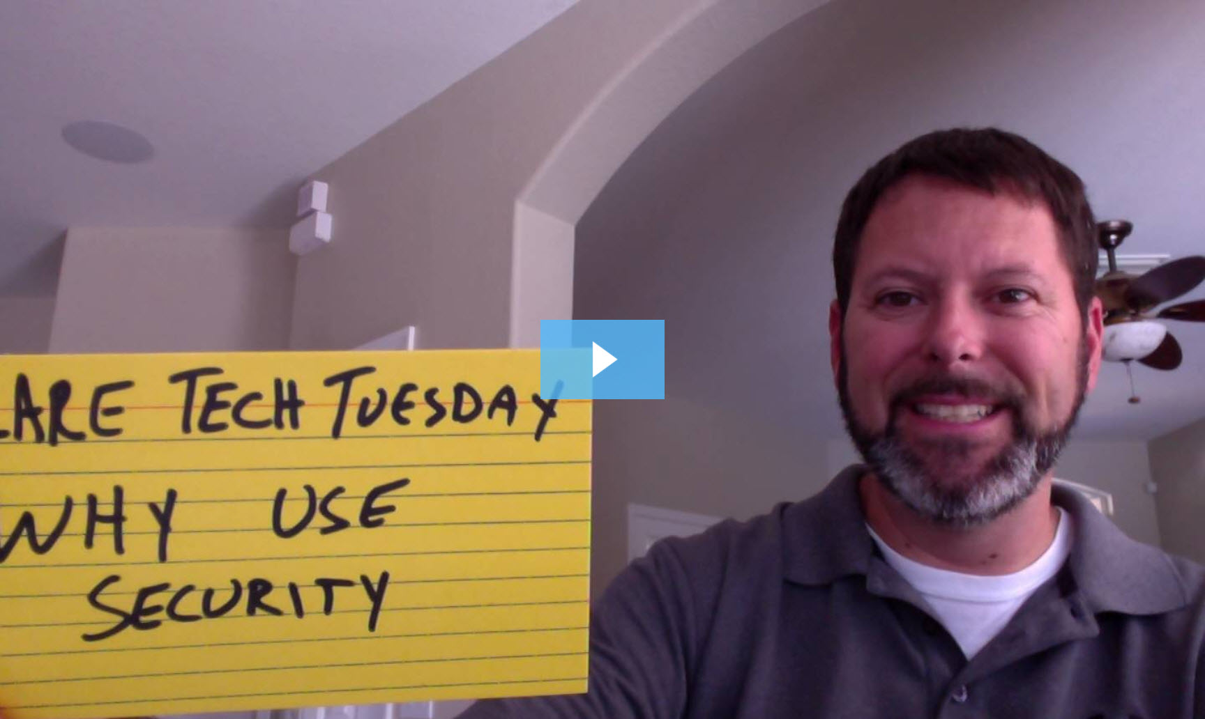 Clare Tech Tuesday: Why Use Security